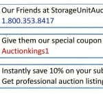 Storage Auctions Listings